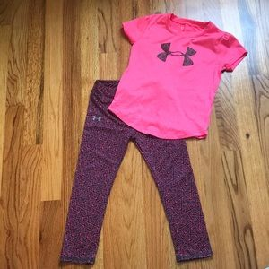 4T Under Armour athletic outfit